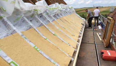 Isolation d'un toit par l'extérieur - DUO CONSTRUCTION RENOVATION