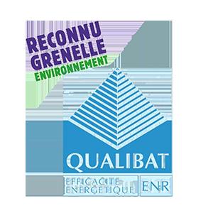 Logo Qualibat - Efficacité Energétique des Bâtiments