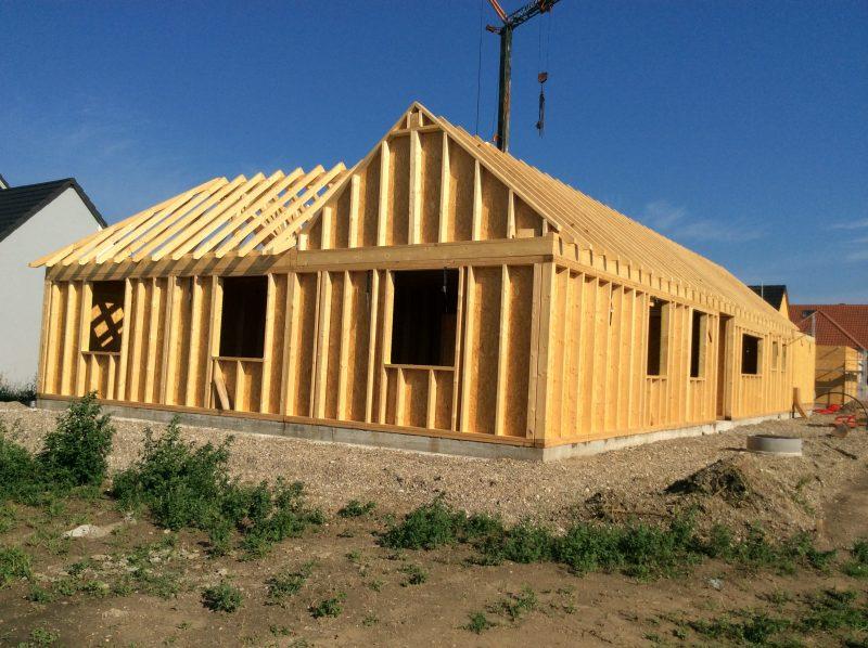 Maison Ossature en bois bioclimatique - Duo Rénovation - Alsace