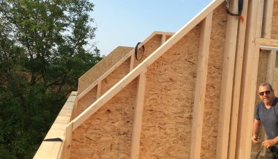construction maison ossature bois premier étage lobsann alsace, bas-rhin