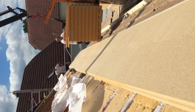 Isolation de la toiture par l'extérieur d'une maison à ossature bois sarking - Beinheim, 67930, Bas-Rhin, Alsace