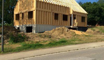 Maison ossature bois Betschdorf, Bas-Rhin, Alsace